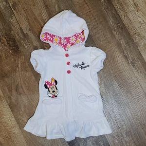 12M baby girl Disney towel dress